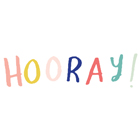 Hooray! by Crate Paper