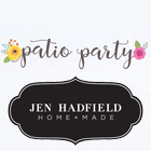 Patio Party by Jen Hadfield