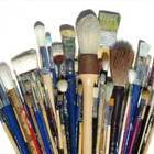 Paintbrushes by type