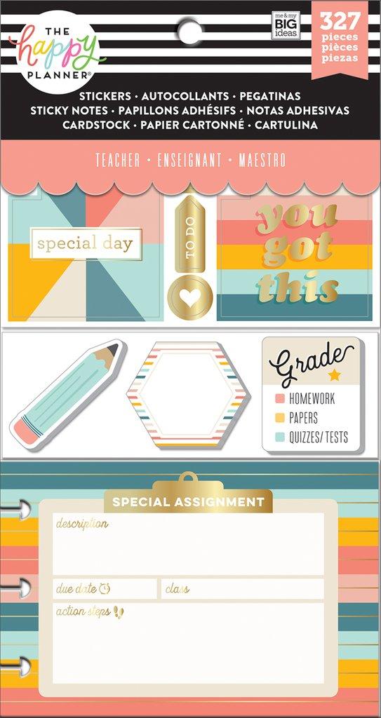 Mambi Kit Happy Planner Teacher Teaching Is Tough